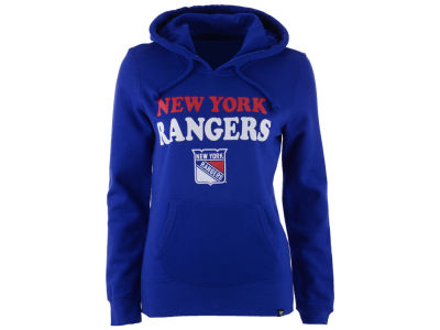 New York Rangers NHL Women's Headline Hooded Sweatshirt