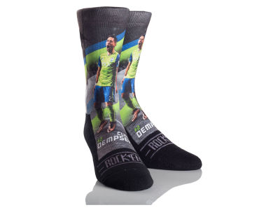 Seattle Sounders FC Clint Dempsey Rock 'Em MLS Player Sock
