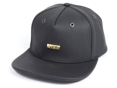 King Apparel Luxe Gold Snapback Cap