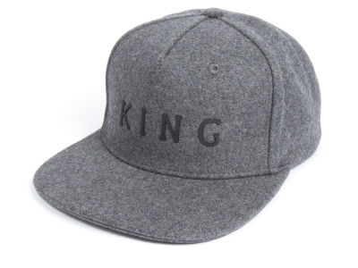 King Apparel Staple Wool Snapback Cap