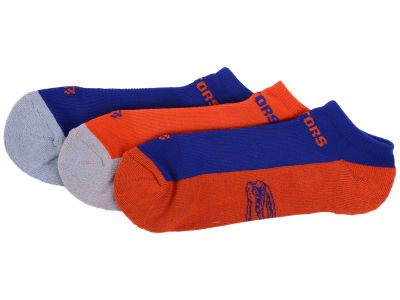 Florida Gators Gait Motion No Show Sock - 3pk