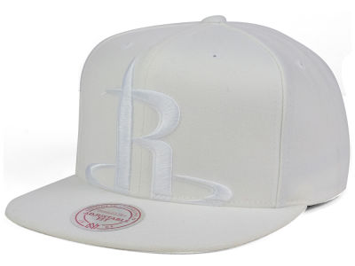 Houston Rockets Mitchell & Ness NBA Cropped XL Logo Snapback Cap