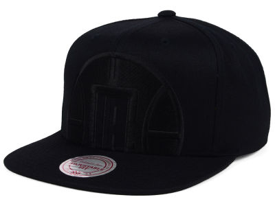 Los Angeles Clippers Mitchell & Ness NBA Cropped XL Logo Snapback Cap