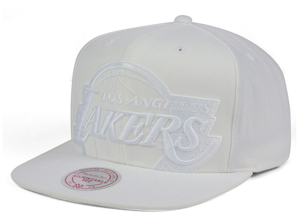 e29d2f124af81 ... promo code for los angeles lakers mitchell ness nba cropped xl logo snapback  cap 9e221 b7758