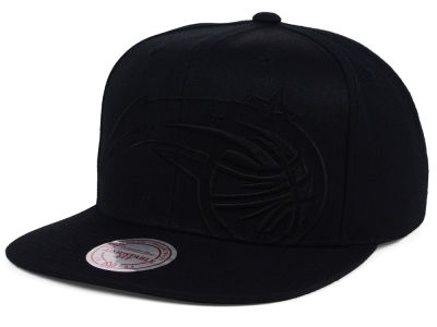 Orlando Magic Mitchell and Ness NBA Cropped XL Logo Snapback Cap