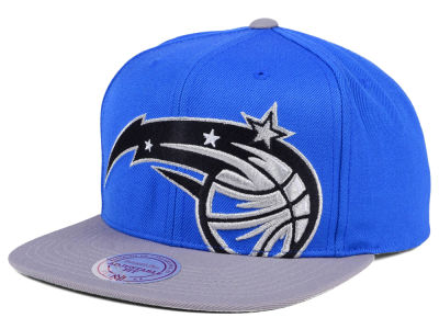 Orlando Magic Mitchell & Ness NBA Cropped XL Logo Snapback Cap