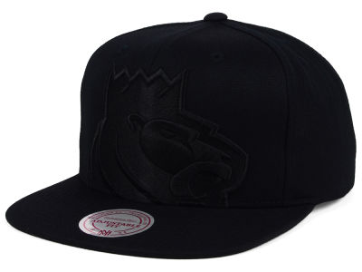 Sacramento Kings Mitchell and Ness NBA Cropped XL Logo Snapback Cap