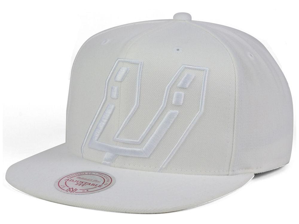 new styles 25aa0 93447 ... where can i buy san antonio spurs mitchell ness nba cropped xl logo  snapback cap 76646