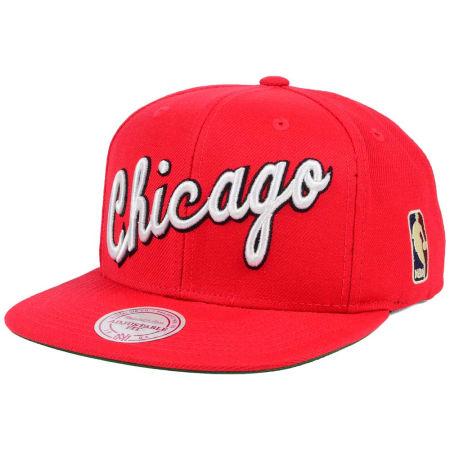 Chicago Bulls Mitchell & Ness NBA Hardwood Classic Basic Logo Snapback Cap