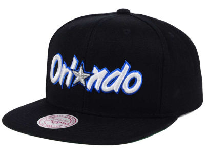 Orlando Magic Mitchell and Ness NBA Hardwood Classic Basic Logo Snapback Cap