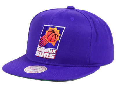Phoenix Suns Mitchell and Ness NBA Hardwood Classic Basic Logo Snapback Cap