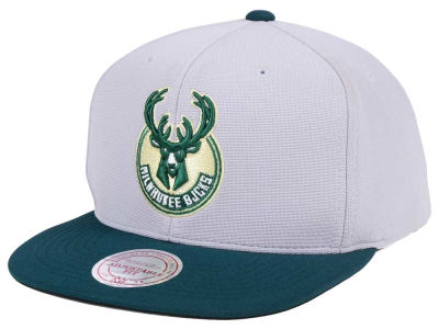 Milwaukee Bucks Mitchell & Ness NBA The Cloud Snapback Cap