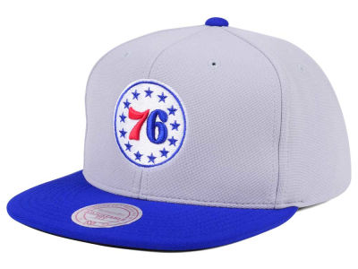 Philadelphia 76ers Mitchell & Ness NBA The Cloud Snapback Cap