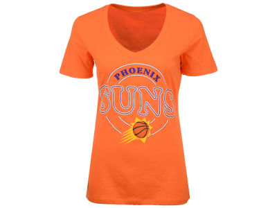 Phoenix Suns NBA Women's Circle Glitter T-Shirt