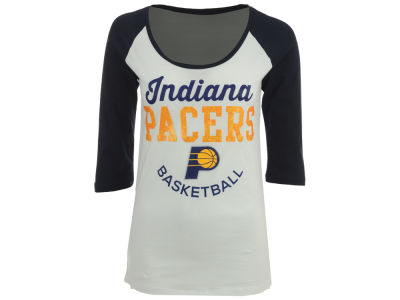 Indiana Pacers NBA Women's Side Zone Raglan T-Shirt