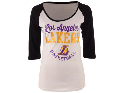 Los Angeles Lakers NBA Women's Side Zone Raglan T-Shirt