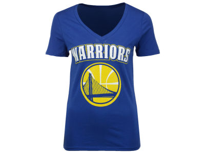 Golden State Warriors NBA Women's Mesh Logo T-Shirt