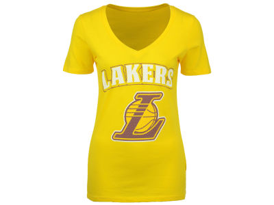 Los Angeles Lakers NBA Women's Mesh Logo T-Shirt