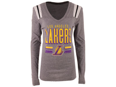 Los Angeles Lakers NBA Women's Free Kick Long Sleeve T-Shirt