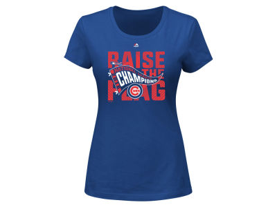 Chicago Cubs MLB Women's 2016 League Champ T-Shirt