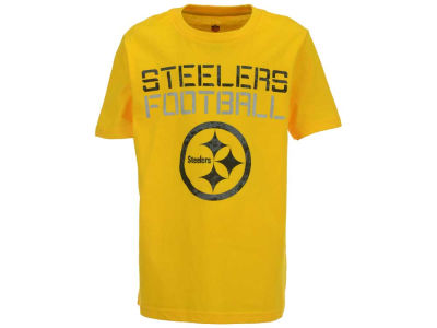 Pittsburgh Steelers NFL Youth Concrete T-Shirt