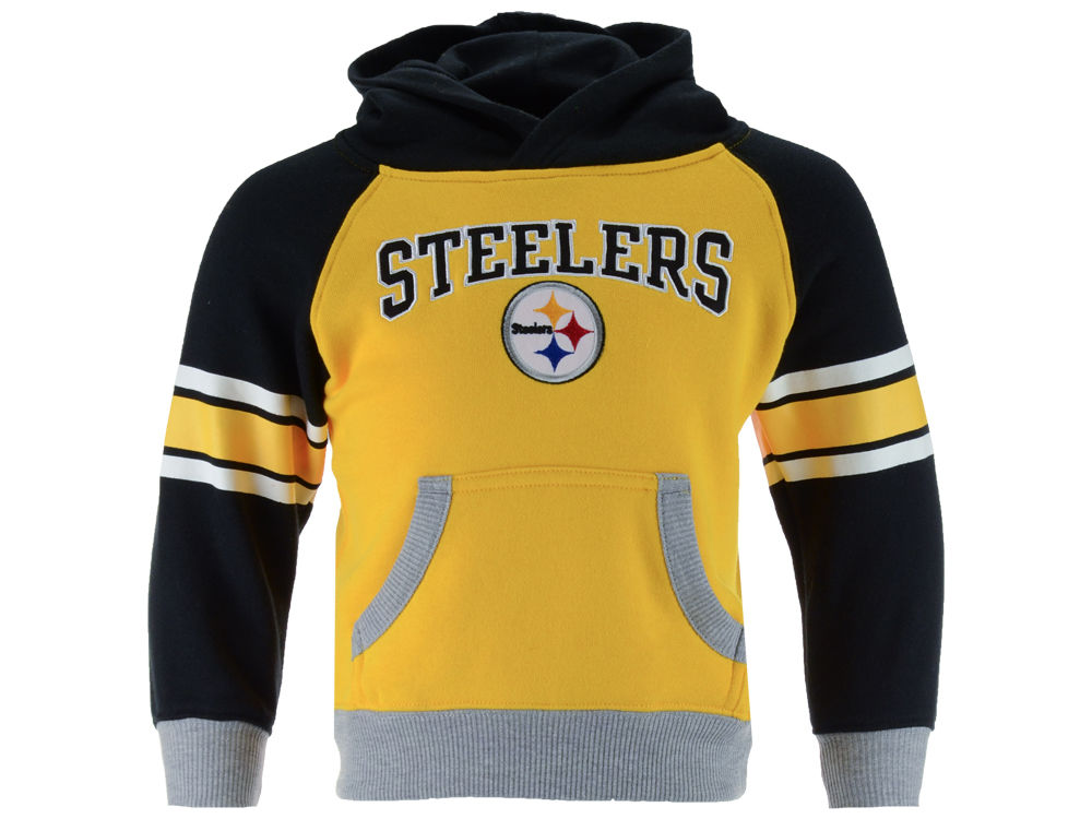 Pittsburgh Steelers Outerstuff NFL Toddler Robust Hoodie  7c738f583