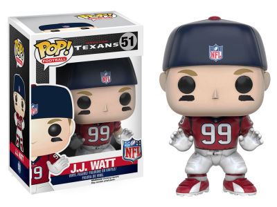 Houston Texans Watt POP! Vinyl Figure Wave 3