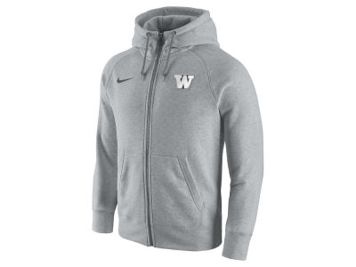 Washington Huskies Nike NCAA Men's Gridiron 2.0 Full Zip Hoodie