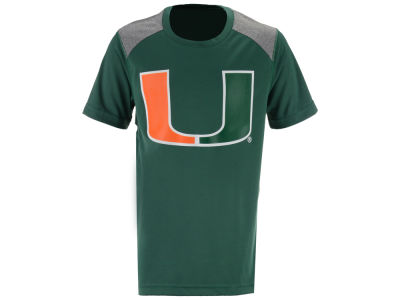 Miami Hurricanes NCAA Youth Ellipse T-Shirt