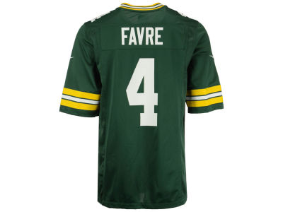 Green Bay Packers Brett Favre Nike NFL Youth Retired Player Game Jersey