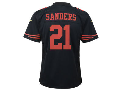 San Francisco 49ers Deion Sanders Nike NFL Youth Retired Player Game Jersey