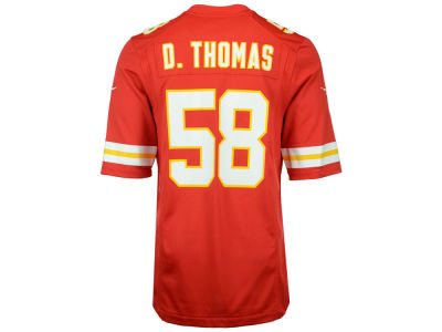 Kansas City Chiefs Derrick Thomas Nike NFL Youth Retired Player Game Jersey