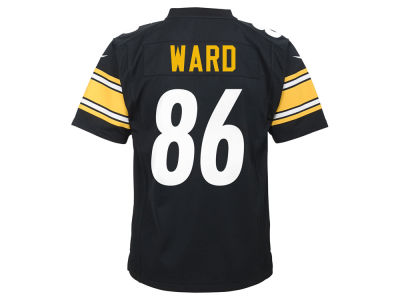Pittsburgh Steelers Hines Ward Nike NFL Youth Retired Player Game Jersey