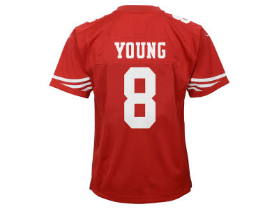 San Francisco 49ers Young Nike NFL Youth Retired Player Game Jersey