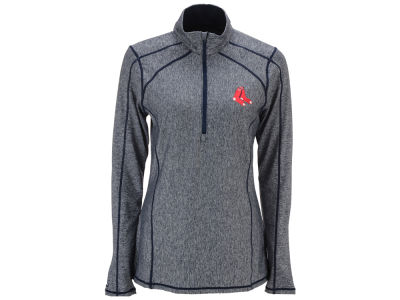 Boston Red Sox Antigua MLB Women's Tempo Quarter Zip Pullover