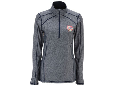 New York Yankees Antigua MLB Women's Tempo Quarter Zip Pullover