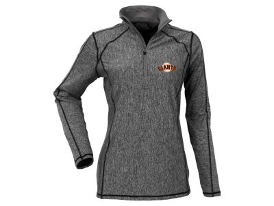 San Francisco Giants Antigua MLB Women's Tempo Quarter Zip Pullover