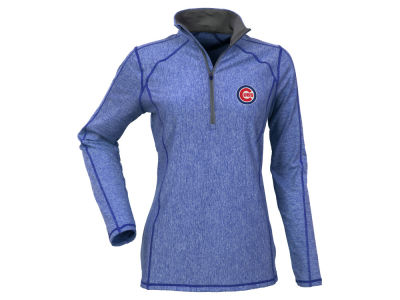 Chicago Cubs Antigua MLB Women's Tempo Quarter Zip Pullover
