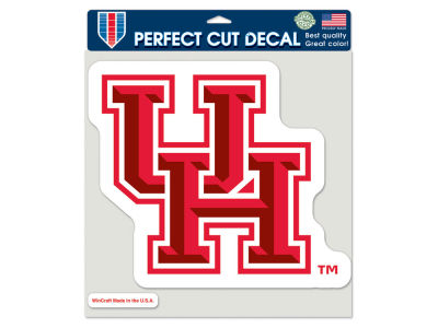 Houston Cougars Die Cut Color Decal 8in X 8in