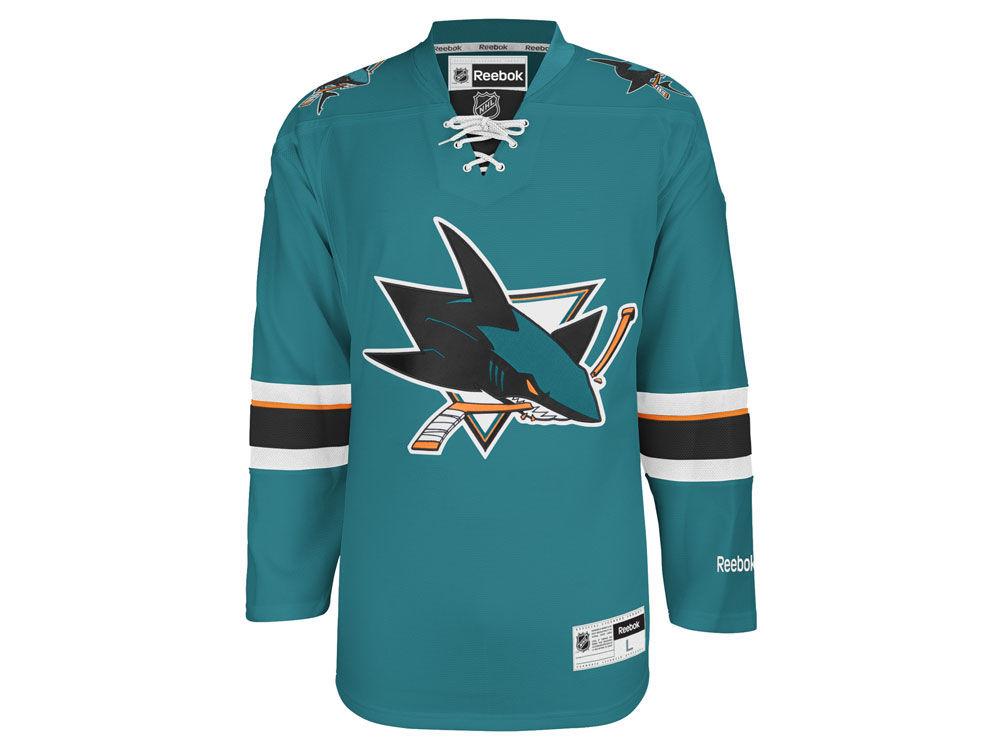 dc4c9a02f San Jose Sharks Reebok NHL Men s Premier Jersey
