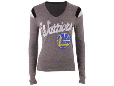 Golden State Warriors 5th & Ocean NBA Women's Travel Long Sleeve T-Shirt