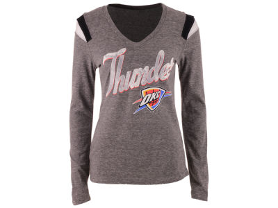 Oklahoma City Thunder 5th & Ocean NBA Women's Travel Long Sleeve T-Shirt