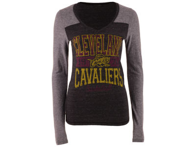 Cleveland Cavaliers 5th & Ocean NBA Women's Dunk Long Sleeve T-Shirt