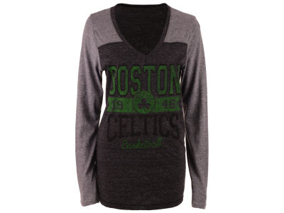 Boston Celtics 5th & Ocean NBA Women's Dunk Long Sleeve T-Shirt