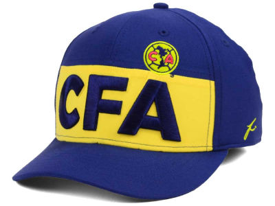 Club America FI Collection Stripe Flex Cap