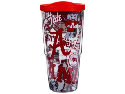 Alabama Crimson Tide Tervis 24oz All Over Colossal Wrap Tumbler