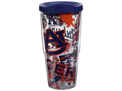 Auburn Tigers Tervis 24oz All Over Colossal Wrap Tumbler