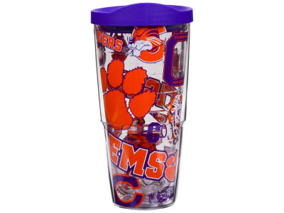 Clemson Tigers Tervis 24oz All Over Colossal Wrap Tumbler