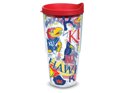 Kansas Jayhawks Tervis 24oz All Over Colossal Wrap Tumbler