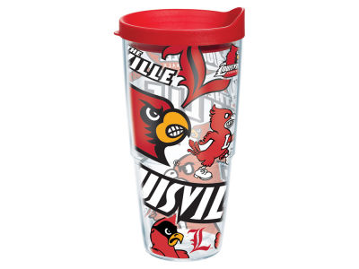 Louisville Cardinals Tervis 24oz All Over Colossal Wrap Tumbler